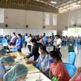 บริการฉีดวัคซีนป้องกันเชื้อไวรัส COVID-19 แก่ประชาชนที่ได้รับการนัดฉีดวัคซีน เข็มที่ ๒ (Astra Zeneca)