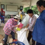 โครงการเพิ่มประสิทธิภาพการบริหารจัดการขยะมูลฝอย