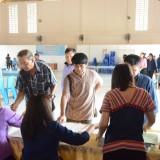 เวทีประชาคมตำบลสันทราย เพื่อจัดทำแผนพัฒนาท้องถิ่น (พ.ศ.2561-2565)
