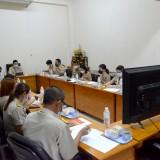 การประชุมคณะผู้บริหารและหัวหน้าส่วนราชการ ครั้งที่ ๑ ประจำปีงบประมาณ ๒๕๖๕