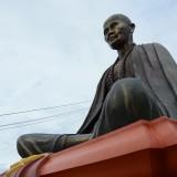 รูปปั้น ครูบาศรีวิชัย ใหญ่ที่สุดในจังหวัดเชียงใหม่