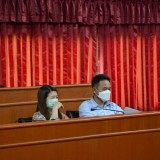การประชุมคณะกรรมการสนับสนุนการจัดทำแผนพัฒนาท้องถิ่น และคณะกรรมการพัฒนาท้องถิ่น เพื่อจัดทำและพิจารณาร่างแผนพัฒนาท้องถิ่น (พ.ศ. ๒๕๖๑-๒๕๖๕) เพิ่มเติมครั้งที่ ๕