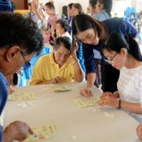 เทศบาลตำบลสันทราย จัดโครงการ ส่งเสริมสุขภาพผู้สูงวัย สร้างจิตสดใส ร่างกายแข็งแรงครั้งที่ 2 ประจำปี 2562