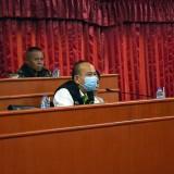 การประชุมเตรียมความพร้อมการป้องกันและแก้ไขปัญหาไฟป่าและฝุ่นควัน PM ๒.๕ ระดับตำบล ตำบลสันทราย