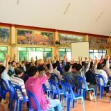 ประชาคมจัดซื้อที่ดินเทศบาลตำบลสันทราย อ.ฝาง