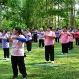 โครงการผู้สูงวัย สร้างจิตใจ ร่างกายแข็งแรง